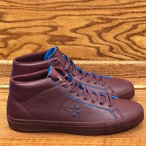 10208a256d3 Converse Shoes - Converse One Star Pro Mid Deep Bordeaux